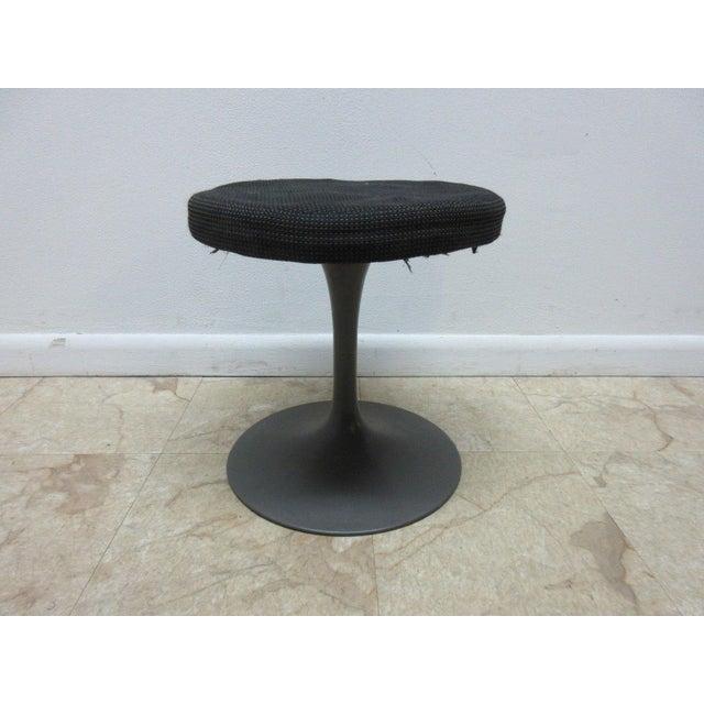 Magnificent Burke Mid Century Tulip Syrian Style Footstool Lamtechconsult Wood Chair Design Ideas Lamtechconsultcom