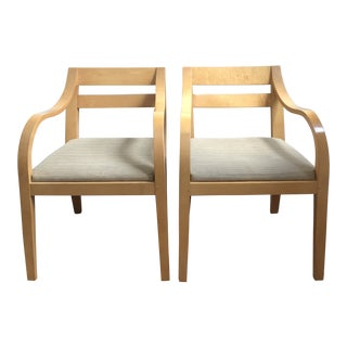Vintage Bernhardt Bentwood Chairs - A Pair For Sale