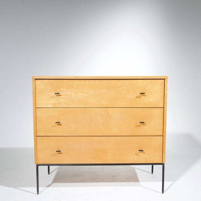 Three-Drawer Dresser by Paul McCobb for Planner Group in Natural Maple For Sale In Los Angeles - Image 6 of 11