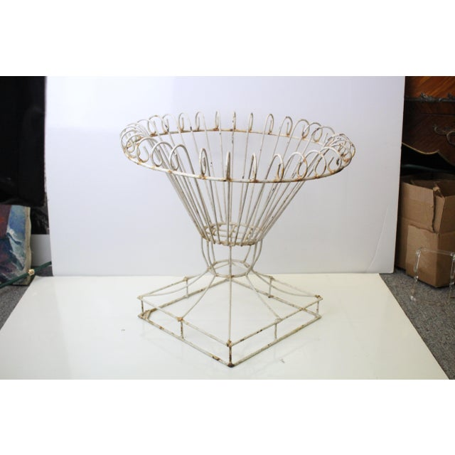 20th Century Art Nouveau Iront Plant Stand For Sale In New York - Image 6 of 6
