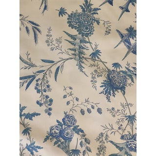 """Brunschwig Fils Edith""""s Reverie Cotton Chintz Charlotte Moss Collection 4 Yards of Fabric For Sale"""