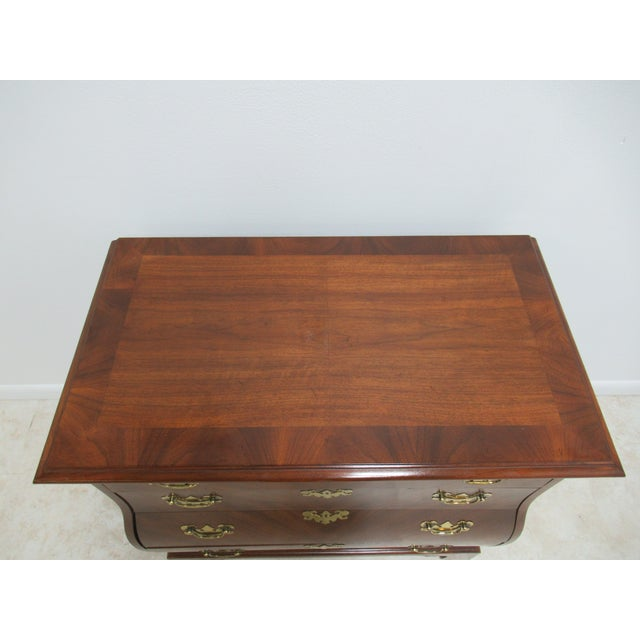 Weiman French Country Weiman Serpentine Bachelors Chest For Sale - Image 4 of 13