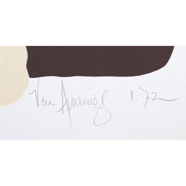 Van Amerino Lithograph - Calla 1 - Image 2 of 2