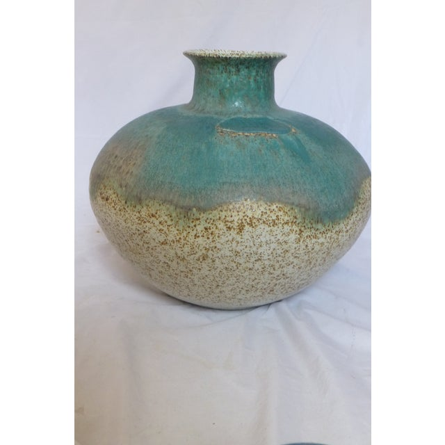 Signed William C. Alexander Giant Studio Pottery Vase For Sale - Image 9 of 13