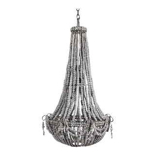 """Traditional Klaylife Elongated Chandelier 24""""x34"""" For Sale"""