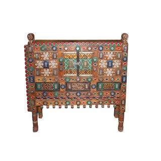1920's Vintage Tribal Damchiya Sideboard For Sale