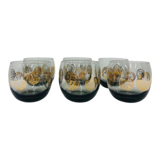 Set of Vintage Cocktail Glasses For Sale