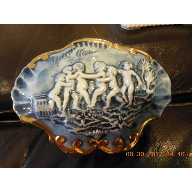 Ceramic Italian Color Capodimonte Trinket Box For Sale - Image 7 of 7