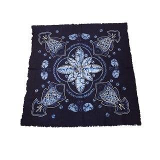 Yunan Bai Tribal Indigo Textile & Embroidery For Sale