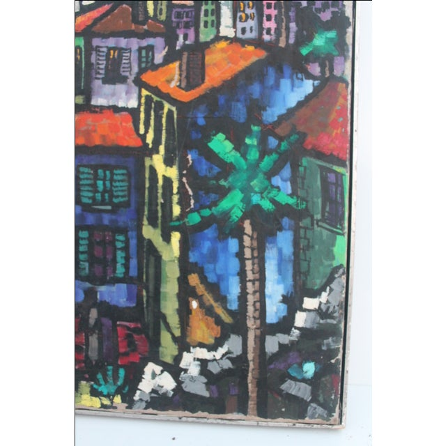 Cityscape Abstract Painting by Feomanol - Image 6 of 11