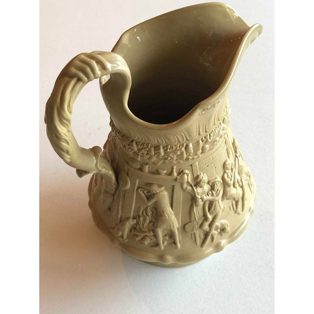 Antique Ridgway Drabware Jug For Sale - Image 4 of 12