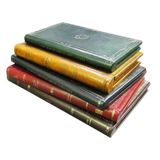 Sarreid Ltd Embossed Leather Book Box