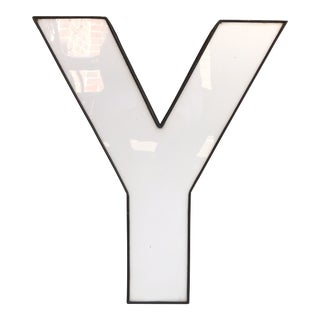 Vintage Marquee Letter 'Y' For Sale