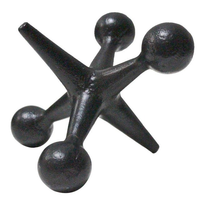 Mid-Century Black Jack Bookend - Image 1 of 2