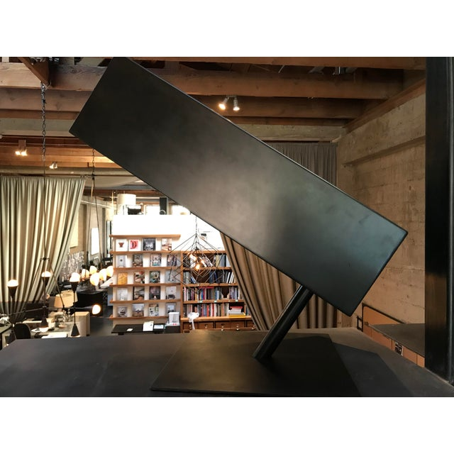 """Contemporary Stephane Ducatteau Modernist """"Cadre"""" Steel Chair For Sale - Image 3 of 8"""