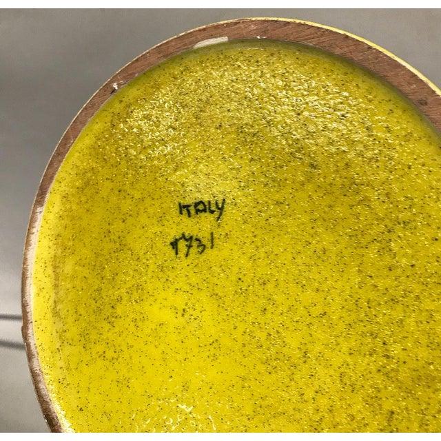 Mid-Century Italian Bitossi Lidded Jar For Sale In Atlanta - Image 6 of 8