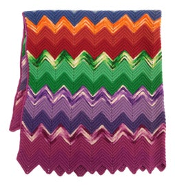 Image of Burnt Orange Throws