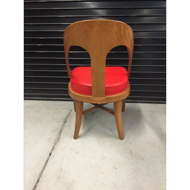 Vintage Mid-Century Modern Teak Chair - Image 4 of 9