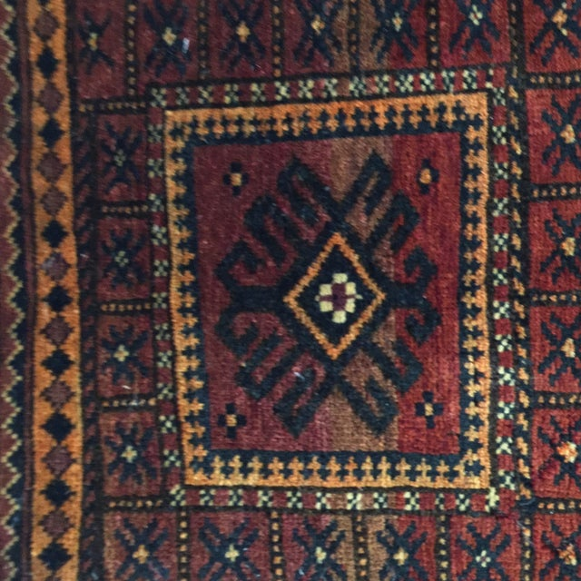 Balluchi Persian Rug - 1′10″ × 1′10″ - Image 4 of 8