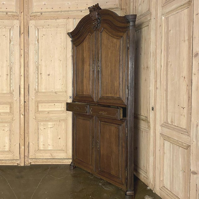 18th Century French Louis XVI Corner Cabinets - a Pair For Sale In Dallas - Image 6 of 13