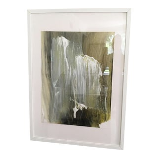 Contemporary Abstract Framed Painting For Sale