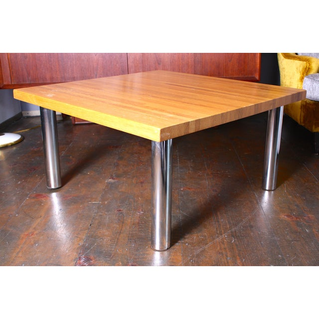 Vintage Butchers Block Pine Coffee Table Chairish - Pine coffee table for sale