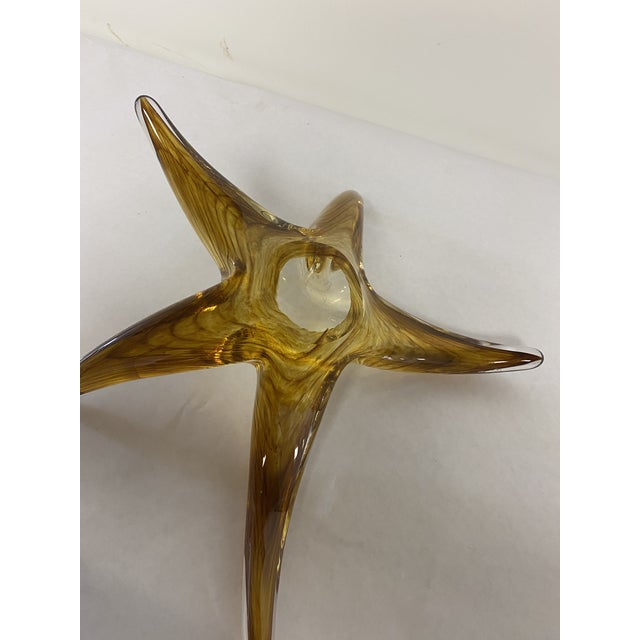 Early 21st Century Sea Star Art Glass For Sale - Image 5 of 7