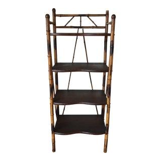 vintage used shelving chairish. Black Bedroom Furniture Sets. Home Design Ideas