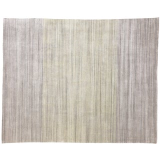 Transitional Ombre Area Rug - 8′ × 10′ For Sale