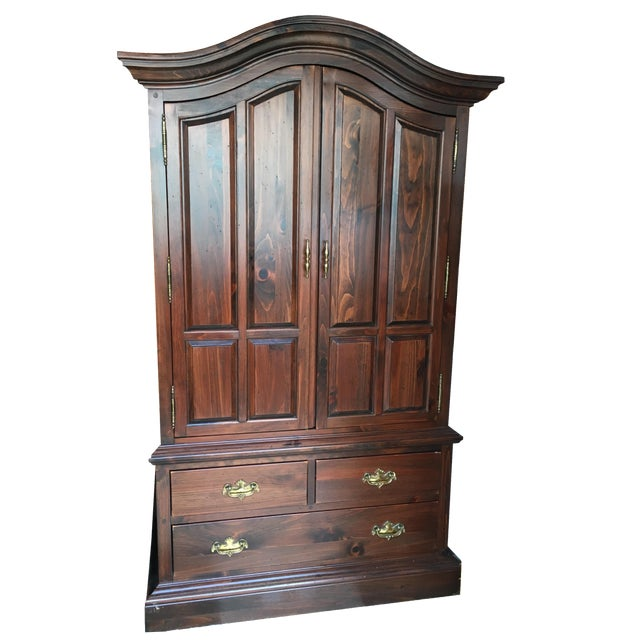 Ethan Allen Mahogany Armoire - Image 1 of 11