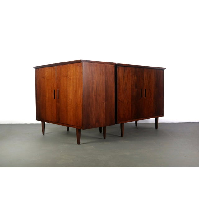 Intense Matching Pair of Arne Vodder Cabinets For Sale - Image 12 of 12