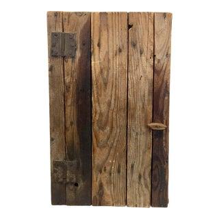 Primitive Wood Trunk, C.1900 For Sale