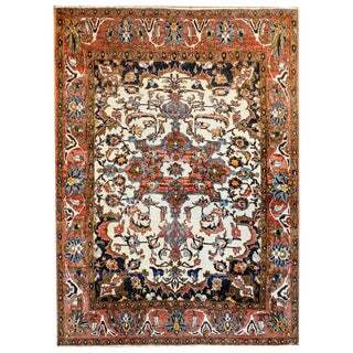Exquisite Early 20th Century Malayer Rug For Sale