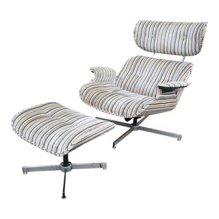 Mid Century Modern Eames Style Ooak Lounge Chair For Sale