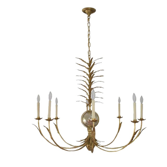 e.f. Chapman for Visual Comfort Gramercy Chandelier For Sale