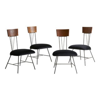 Set of 4 Dining Chairs by Richard McCarthy for Selrite For Sale