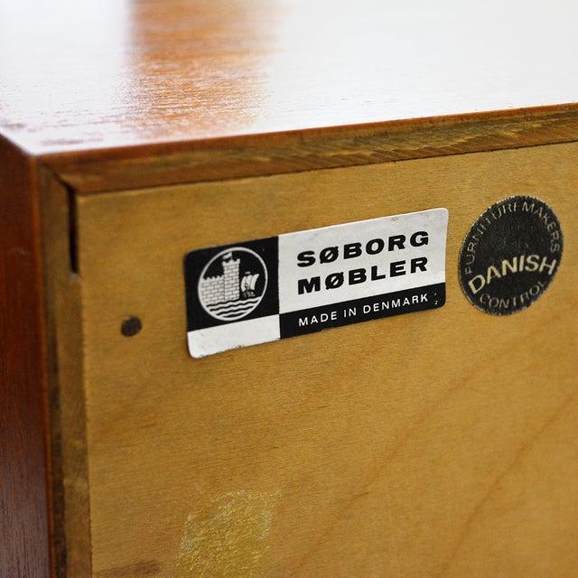 Mid Century Borge Mogensen Teak Dresser for Soborg Mobler For Sale - Image 10 of 13