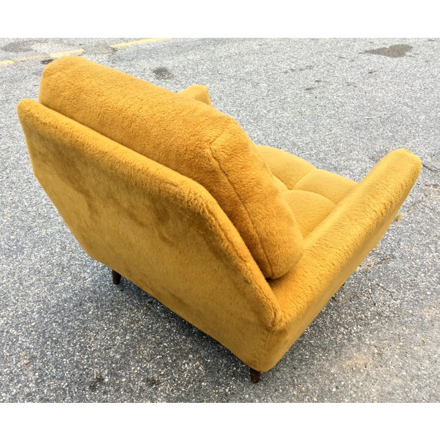 Mid Century Adrian Pearsall Angled Walnut Lounge Chair - Image 4 of 6