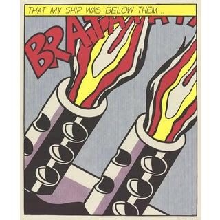 Roy Lichtenstein, That My Ship Was Below Them (Panel 3) Poster For Sale