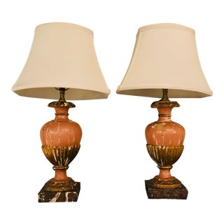 19th Century Italian Lamps - a Pair For Sale