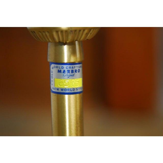 Marbro Italian Ceramic Faience Table Lamp - Image 5 of 9
