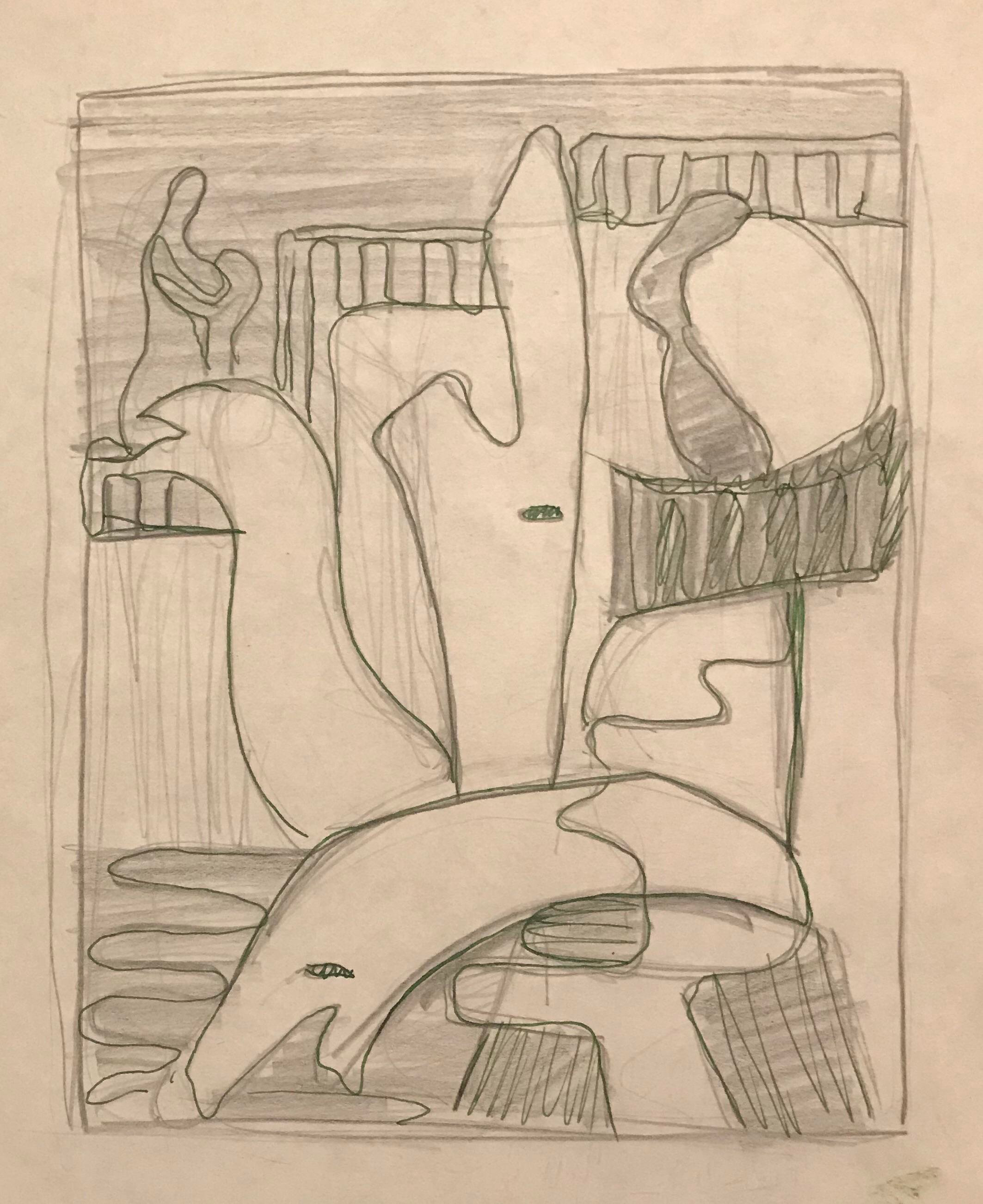 Vintage used drawings for sale chairish