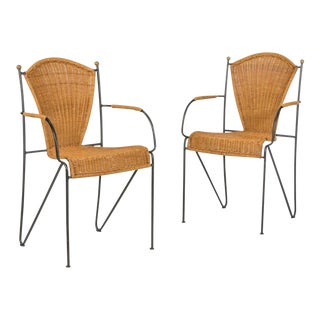 Final Markdown > Frederick Weinberg Chairs - a Pair For Sale
