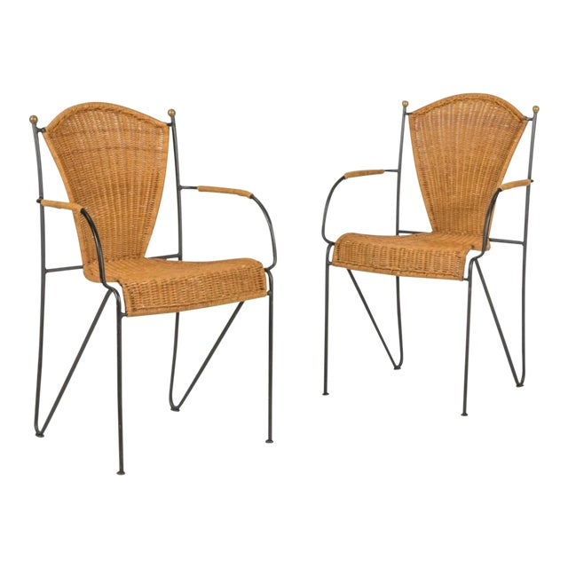 Final Markdown > Frederick Weinberg Chairs - a Pair - Image 1 of 6