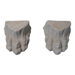 Composite Stone Lions Claws - A Pair For Sale