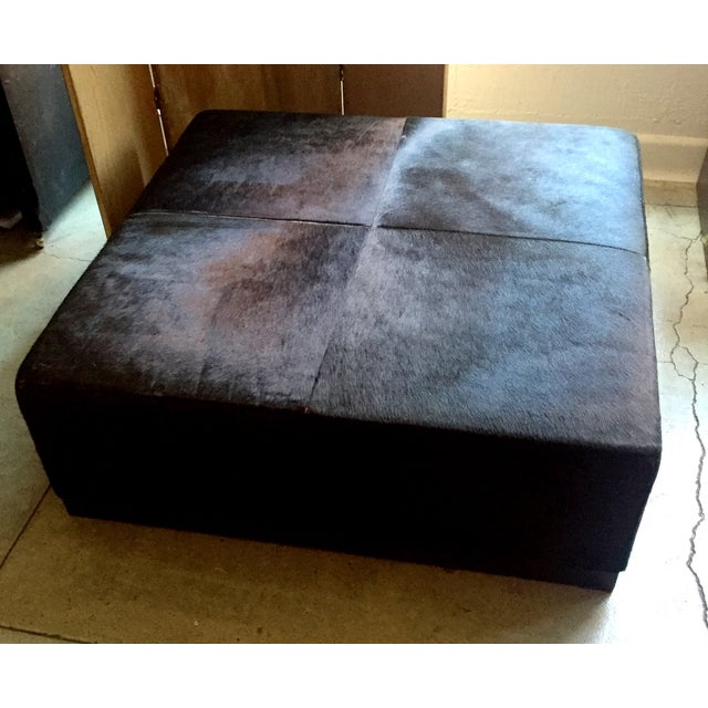 Cowhide Ottoman - Image 2 of 5