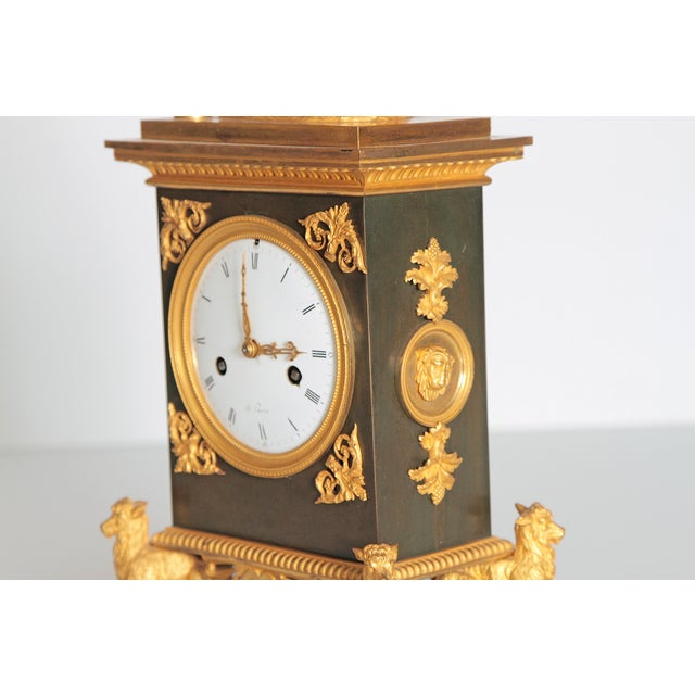 Early 19th Century French Clock With Putto For Sale - Image 9 of 13