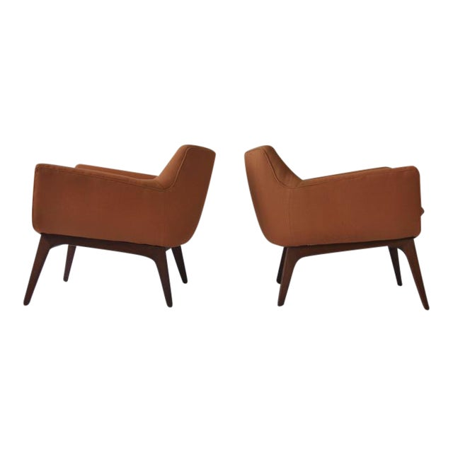 Pair of Adrian Pearsall Lounge Chairs - Image 1 of 6