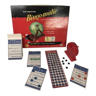1950s Transogram Bingo-Matic Game