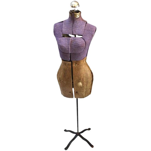 Vintage Purple Mannequin Floor Lamp - Image 1 of 5
